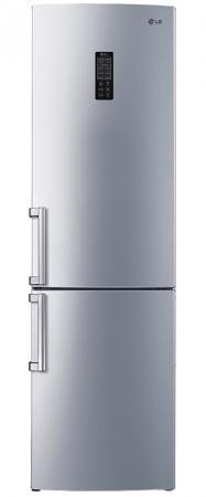 Холодильник LG GA-B489ZVCK серебристый oiwas ноутбук рюкзак водонепроницаемый большой сумка сумка бизнес стиль рюкзак ноутбук таблетка защитная сумка