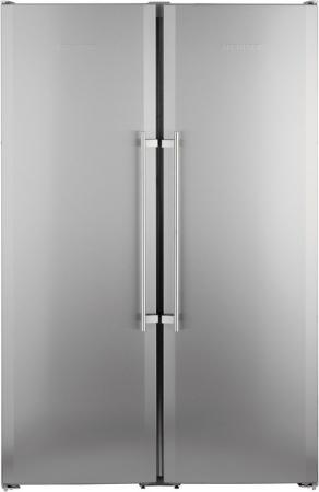 Холодильник Liebherr SBSesf 7212 серебристый холодильник liebherr ct 3306