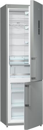Холодильник Gorenje NRK6201MX серебристый