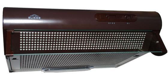 Вытяжка подвесная Elikor Davoline 60П-290-П3Л коричневый elikor davoline 60 кремовый