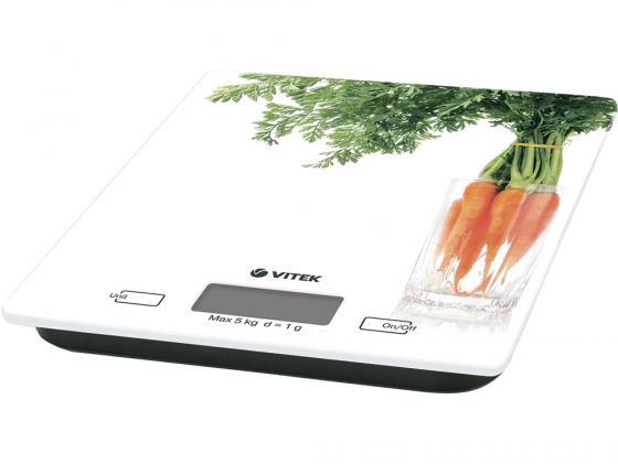 Весы кухонные Vitek VT-2418-W белый весы кухонные vitek vt 2418 01 белый