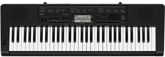 Синтезатор Casio CTK-3200 61 клавиша USB AUX черный