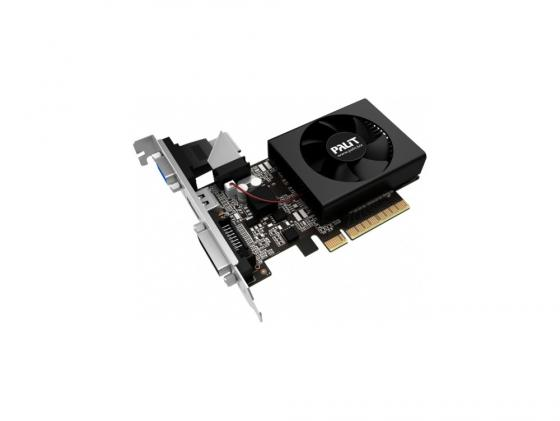 цена на Видеокарта 2048Mb Palit GeForce GT730 PCI-E DDR3 64 bit DVI HDMI OEM