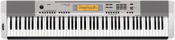 Цифровое фортепиано Casio CDP-230RSR 88 клавиш USB SDHC AUX серебристый casio cdp 130bk цифровое фортепиано black