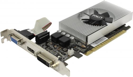 Видеокарта 1024Mb Palit GeForce GT730 PCI-E 64bit GDDR5 DVI HDMI Retail