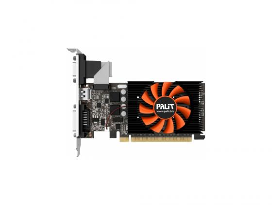 Видеокарта 1024Mb Gainward GeForce GT730 PCI-E DVI HDMI NE5T7300HD06-2081F Retail видеокарта asus geforce gtx 1060 1620mhz pci e 3 0 6144mb 8208mhz 192 bit dvi hdmi hdcp rog strix gtx1060 o6g gaming