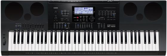 Синтезатор Casio WK-7600 76 клавиш USB AUX SD черный