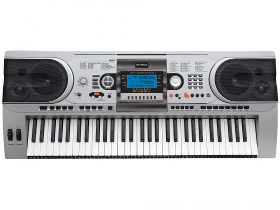 Синтезатор Supra SKB-615S 61 клавиша серебристый