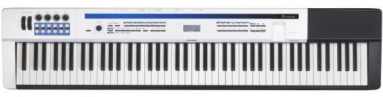 Цифровое фортепиано Casio Privia PX-5SWE 88 клавиш USB черно-белый casio cdp 130bk цифровое фортепиано black