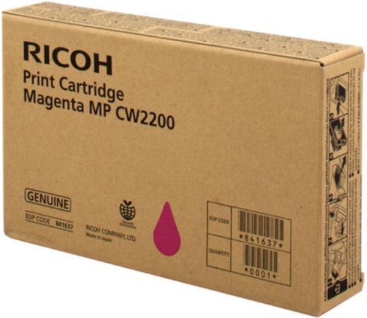 Картридж Ricoh MP CW2200 пурпурный 841637