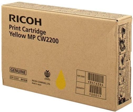 Картридж Ricoh MP CW2200 желтый 841638