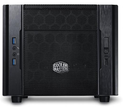 Корпус mini-ITX Cooler Master Elite 130 Без БП чёрный RC-130-KKN1 корпус mini itx cooler master elite 120 без бп чёрный rc 120a kkn1