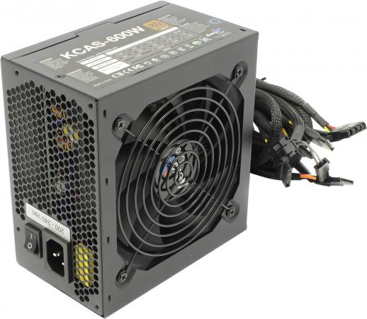 Фото - Блок питания ATX 600 Вт Aerocool KCAS-600W блок питания accord atx 1000w gold acc 1000w 80g 80 gold 24 8 4 4pin apfc 140mm fan 7xsata rtl