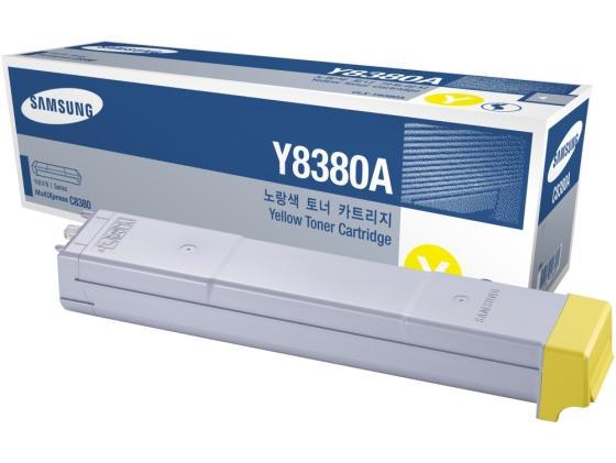 Картридж Samsung CLX-Y8385A для 8385ND желтый