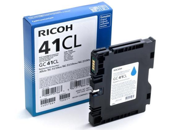 все цены на Картридж Ricoh GC 41CL голубой 405766 онлайн