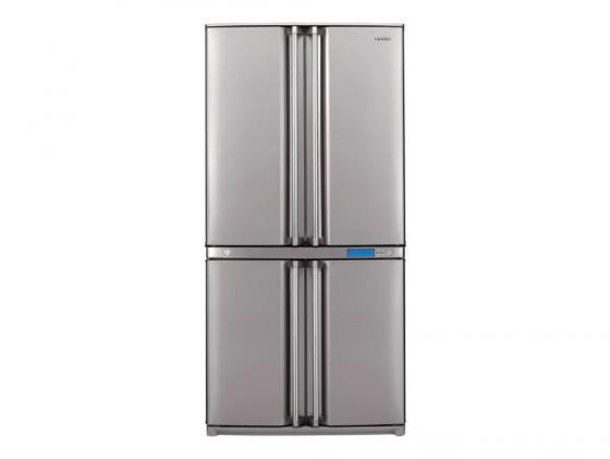 Холодильник Sharp SJ-F96SPSL серебристый cooler master корпус miditower atx w o psu sgc 1000 kwn1 cooler master не указан
