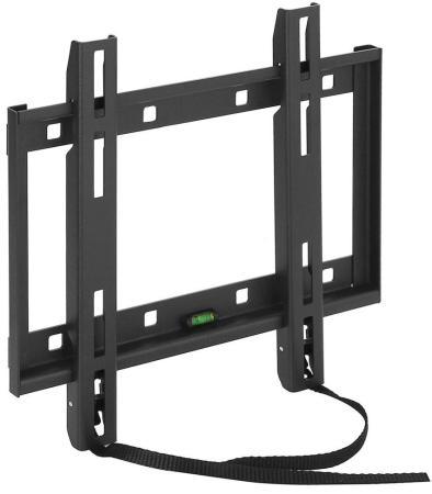 Кронштейн Holder LCD-F2608-B черный для ЖК ТВ 22-47 настенный от стены 23мм наклон 0° VESA 200x200 до 30кг holder lcd t2609 b для 22 47 металлик