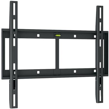 Кронштейн Holder LCD-F4610-B черный для ЖК ТВ 32-65 настенный от стены 23мм наклон 0° VESA 400x400 до 60 кг кронштейн holder pr 102 w белый для жк тв 32 65 потолочный фиксированный vesa 400x400 до 90 кг