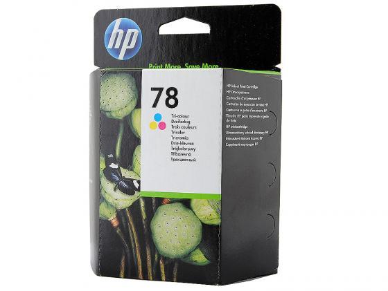 Картридж HP C6578A №78 для DeskJet DJ920C 960C 970C 980C 990C цветной цена 2017
