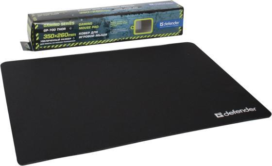 лучшая цена Коврик для мыши Defender GP-700 Thor тканевый лайкра 350x260x30 мм 50070
