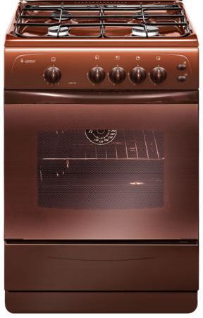Газовая плита Gefest ПГ 1200 С6 К19 коричневый газовая плита gefest пг 1200 с6 к33 белый