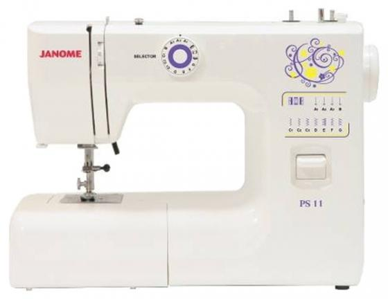 Швейная машина Janome PS-11 белый janome ps 700
