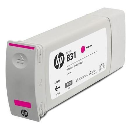 Картридж HP 831C для HP Latex 310/330/360 пурпурный 775мл CZ699A картридж hp cz706a для latex 310 330 360