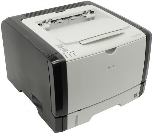 Купить со скидкой Принтер Ricoh Aficio SP 311DN черно-белый A4 28ppm 1200x600dpi RJ-45 USB 407232