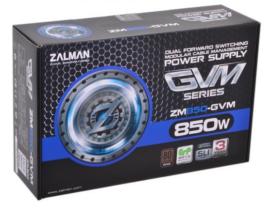 Блок питания ATX 850 Вт Zalman ZM850-GVM