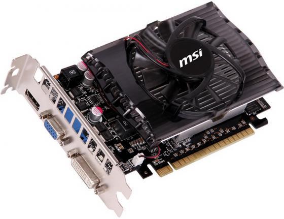Видеокарта 2048Mb MSI GeForce GT730 PCI-E DVI HDMI N730-2GD3V2 Retail цены