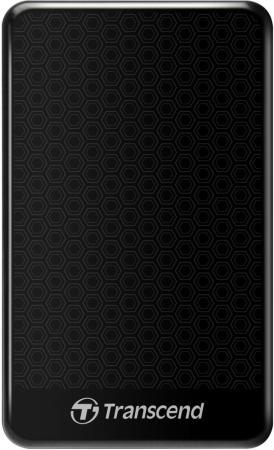 Внешний жесткий диск 2.5 USB3.0 2Tb Transcend TS2TSJ25A3K черный usb 3 0 transcend ts32gjf700 в белгороде