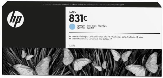 Картридж HP CZ698A для Latex 310/330/360 светло-голубой картридж hp cn674a для latex 610 светло голубой 3л