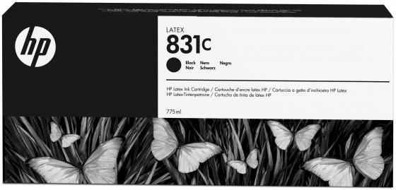 Картридж HP 831C CZ694A для Latex 310 330 360 черный картридж hp cz706a для latex 310 330 360