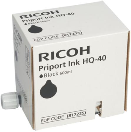 Чернила Ricoh 817225 для DX4542 черный 600мл me4542 4542