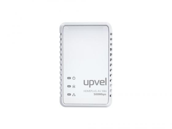 Адаптер Powerline Upvel UA-251P HomePlug AV 500 Мбит/с с поддержкой IP-TV 1LAN порт