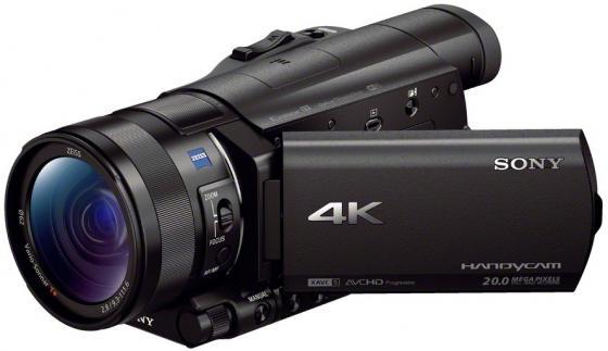 Цифровая видеокамера Sony FDR-AX100E/B 14.2Mpx 12xzoom 3.5'' черный sony fdr ax100e