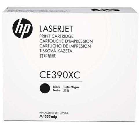 Картридж HP CE390XC для LaserJet M4555/M602/M603 черный