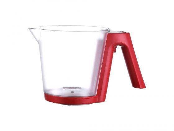 Весы кухонные Sinbo SKS 4516 электронные красный кухонные весы sinbo весы кухонные электронные sinbo sks 4516 макс вес 2кг черный