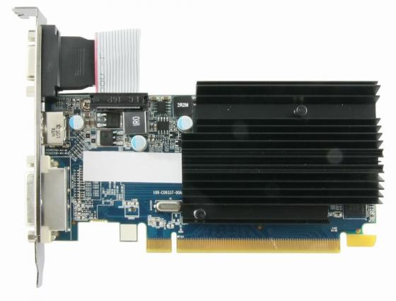 Видеокарта 1024Mb Sapphire R5 230 PCI-E GDDR3 64bit DVI HDMI HDCP 11233-01-10G OEM видеокарта 6144mb msi geforce gtx 1060 gaming x 6g pci e 192bit gddr5 dvi hdmi dp hdcp retail
