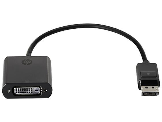 Переходник DisplayPort to DVI-D HP FH973AA переходник aopen hdmi dvi d позолоченные контакты aca311