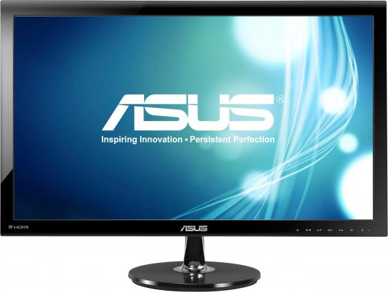"Монитор 27"" ASUS VS278H черный TN 1920x1080 300 cd/m^2 1 ms Аудио HDMI VGA 90LMF6001Q02271C-"