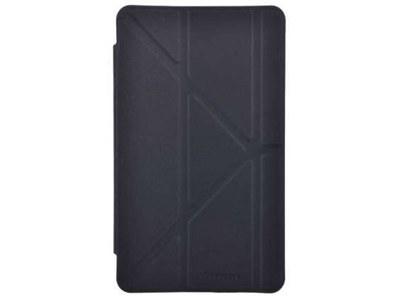 Чехол IT BAGGAGE для планшета Samsung Galaxy Tab4 8 Hard case искусственная кожа черный ITSSGT4801-1 чехол it baggage для планшета samsung galaxy tab4 8 hard case искус кожа бирюзовый с тонированной задней стенкой itssgt4801 6