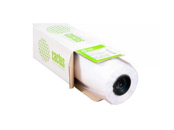 Фото - Бумага для плоттера Cactus CS-PC90-61045 24 610мм x 45м 90г/м2 с покрытием бумага для плоттера cactus cs pc90 61045 24 610мм x 45м 90г м2 с покрытием