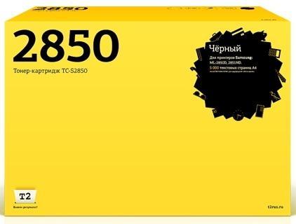 Фото - Картридж T2 TC-S2850 для для Samsung ML-2850D/2851ND 5000стр Черный картридж t2 tc c725 для lbp6000 lbp6000b lbp6020 lbp6020b