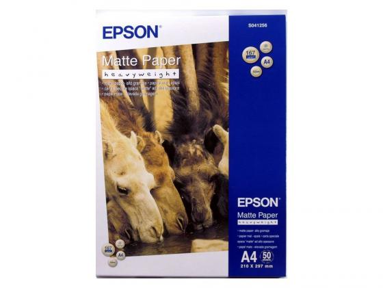 Бумага Epson A4 167 г/кв.м Matte Heavy Weight Photo Quality C13S041256 50л фотобумага epson a4 255 г кв м глянцевая 50л c13s041624