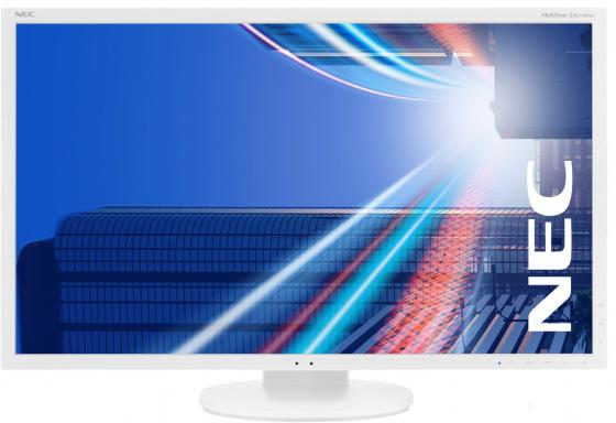 Монитор 27 NEC EA273WMi белый AH-IPS 1920x1080 250 cd/m^2 6 ms DVI HDMI DisplayPort VGA Аудио USB монитор nec e241n bk черный ah ips 1920x1080 250 cd m^2 6 ms hdmi displayport vga аудио