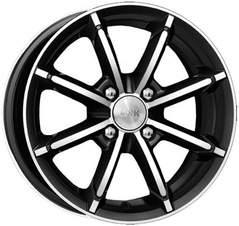 цена на Диск K&K Sportline 6x14 4x100 ET40.0 Алмаз черный