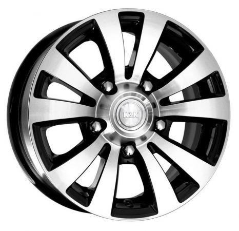 Диск K&K Фалкон-Нова 6x15 5x139 ET35.0 Алмаз черный