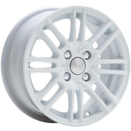 Диск Скад Электра 6x14 4x100 ET38.0 белый литой диск megami mgm 4 6x14 4x100 d56 6 et49 s