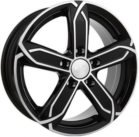 Диск K&K X-fighter 6x15 5x114 ET39.0 Алмаз черный колесные диски кик сиеста 12799 6x15 5x114 3 d67 1 et39 алмаз черный